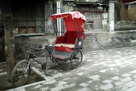 rikscha: Ein Fahrrad-Rikscha