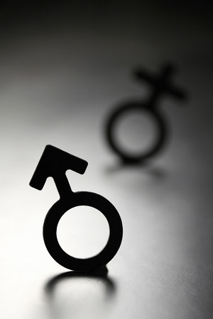 sexual issues: Male and female symbol
