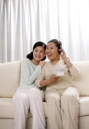 Woman accompanying senior woman