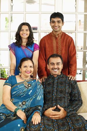 kurta: Happy family portrait