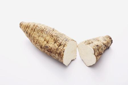 Sliced kudzu root