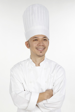 asian chef: Asian chef posing with arms crossed