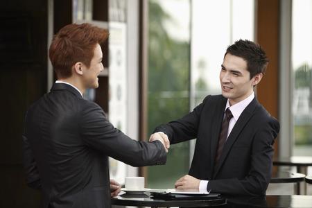 businessmen shaking hands: Businessmen shaking hands