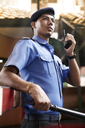 guardia de seguridad: Servicio de seguridad de guardia