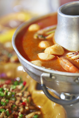 scrumptious: Seafood hot pot with soup