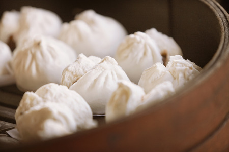 mouthwatering: Steamed pork buns