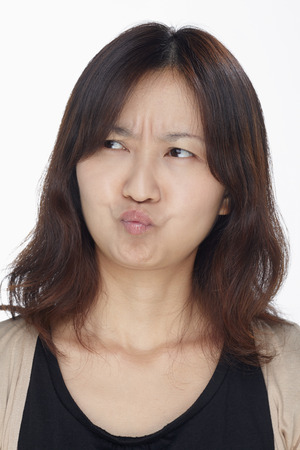 sulk: Facial expressions