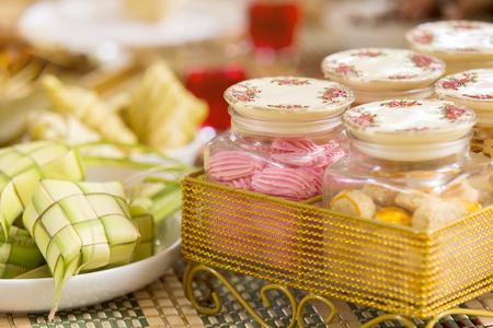 各种各样的传统马来食物