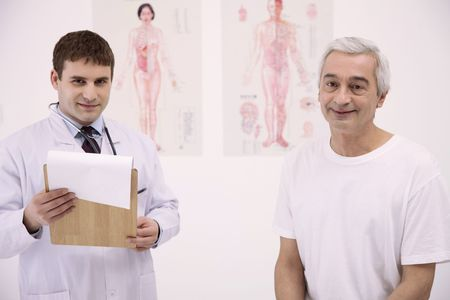 Doctor and his patient Stock Photo - 6581076