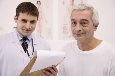 Doctor and his patient Stock Photo - 6581078