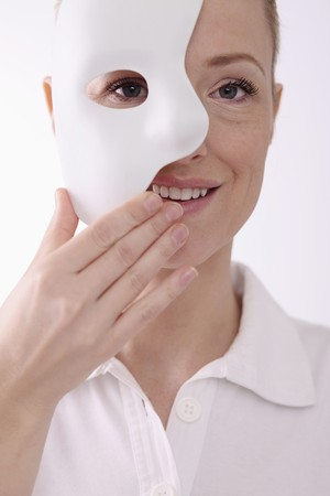 Woman with face mask Stock Photo - 6866665