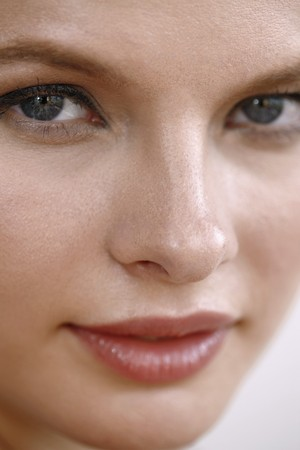 Close-up of woman's face Stock Photo - 7131700