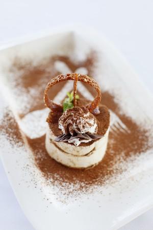 Tiramisu dessert Stock Photo - 7361683