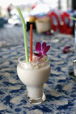 Coconut shake photo