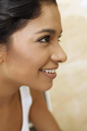 Woman smiling Stock Photo - 7446506