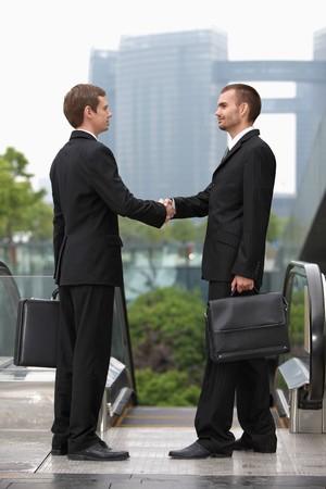 Businessmen shaking hands Stock Photo - 7834406