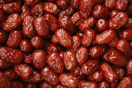 Chinese red dates Stock Photo - 7835770