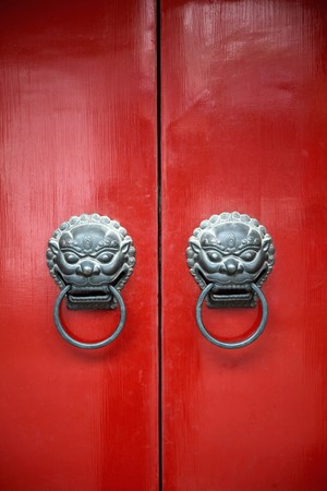 Traditional chinese door Stock Photo - 8018663