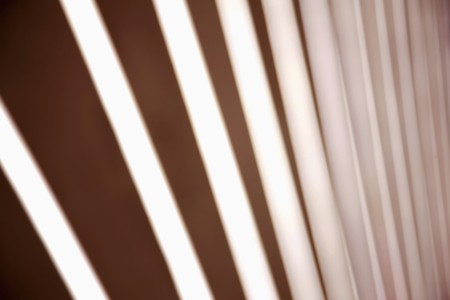Close up of window blinds photo