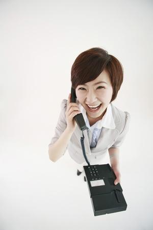 Businesswoman talking on the phone Stock Photo - 8260012
