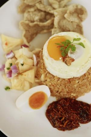 Seafood fried rice photo