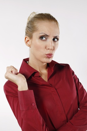 belarusian ethnicity: Empresaria pensando