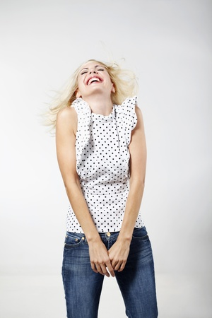 belarusian ethnicity: Woman laughing