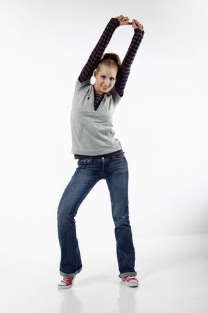 belarusian ethnicity: Mujer bailando