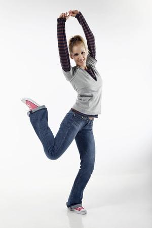 belarusian ethnicity: Woman dancing