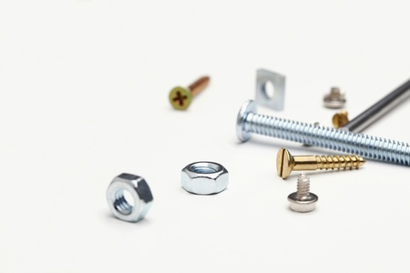 things that go together: Nuts and bolts