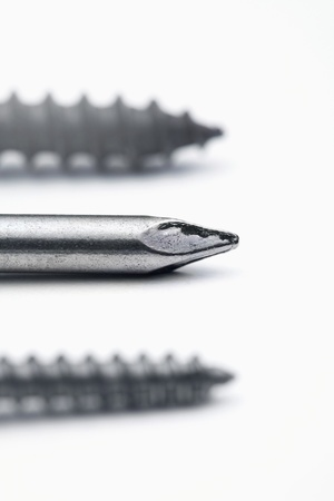 Screws and nail photo