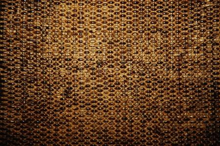 Woven basket texture photo