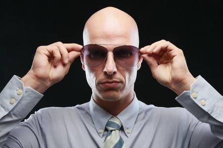 Man wearing sunglasses Stock Photo - 9525649