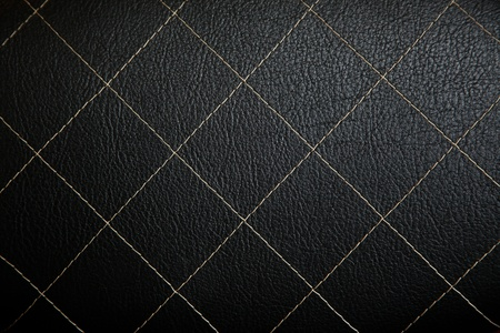 repetition: Leather couch, background
