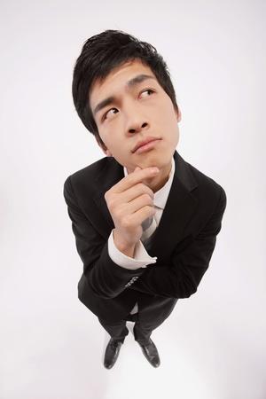 Businessman thinking photo