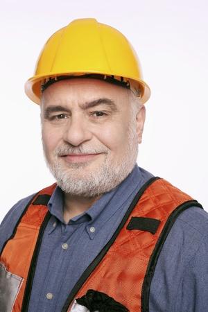 Man with hardhat photo