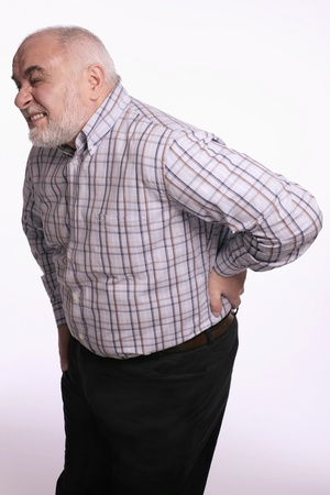 Man having a backache Stock Photo - 9956867