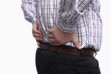 Man having a backache Stock Photo - 9956864