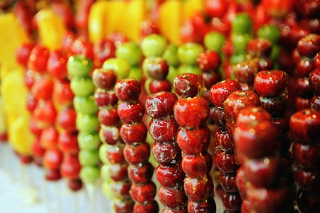 candied fruits: Candied fruits Stock Photo