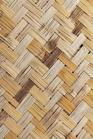 weaving: Mesh of cane