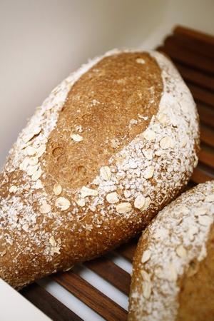 phuket food: Freshly baked bread with oats