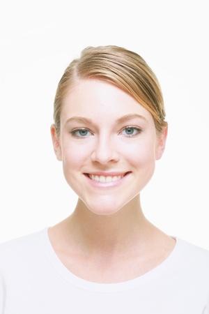 face shot: Woman smiling