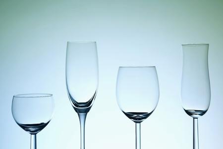 Empty glasses Stock Photo - 13147158