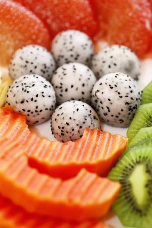 phuket food: A variation of fruits