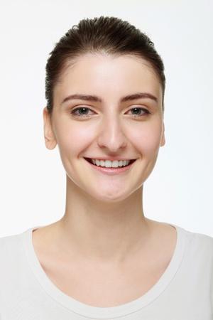Woman smiling photo