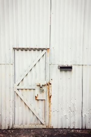 Imagen de la puerta cerrada Foto de archivo - 19025249