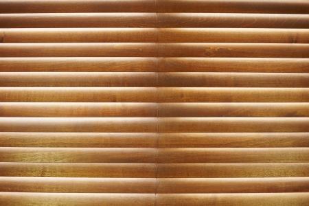 part of me: Close-up de las persianas de madera
