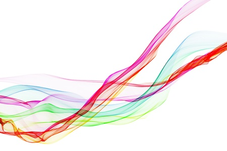 Abstract design with multi-colored lines Stock Photo - 19162878
