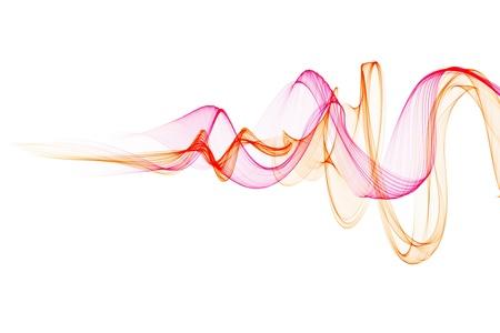 Abstract ontwerp met multi-gekleurde lijnen Stockfoto