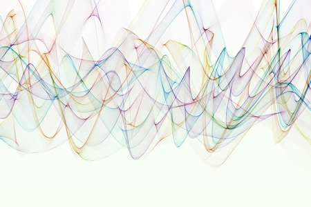 Abstract design with multi-colored lines Stock Photo - 19286003